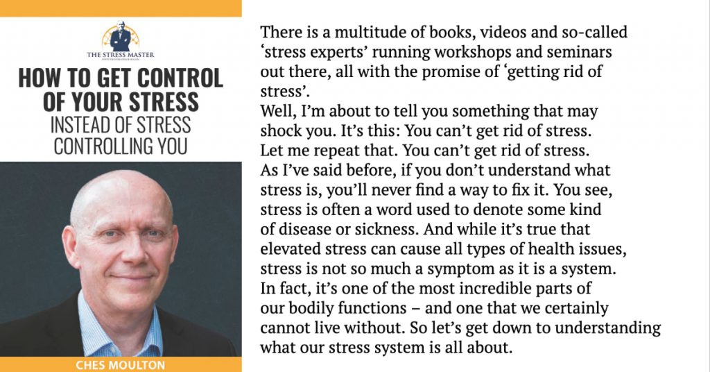 Eliminate Stress? Think Again! 1