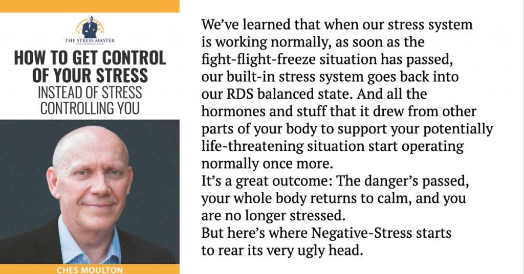 Let The Negative Stress Begin... 1