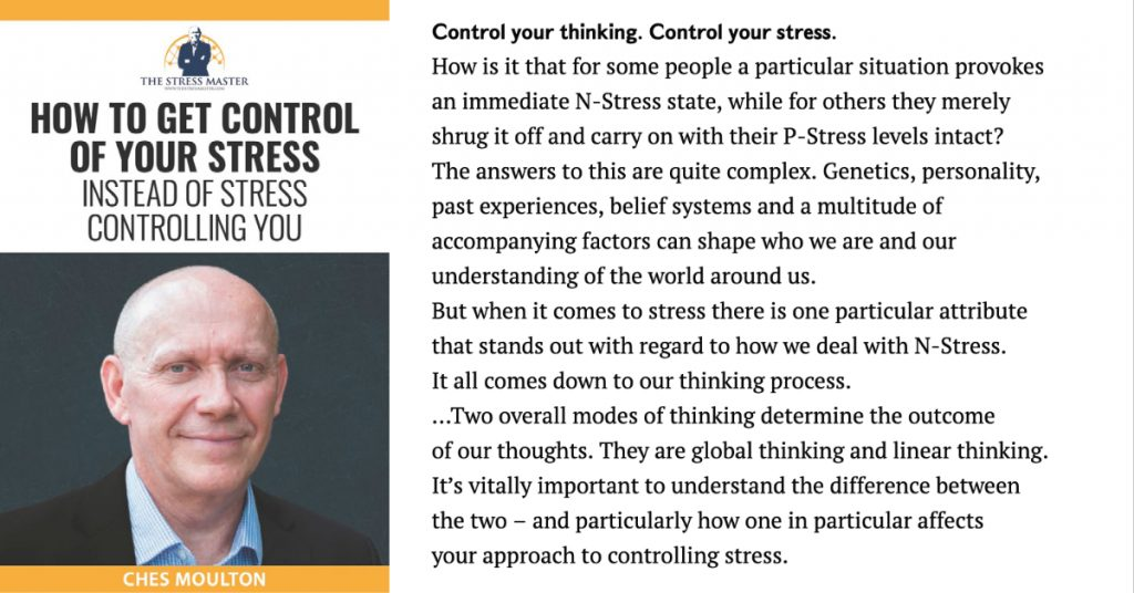 You + Thoughts = STRESS 1